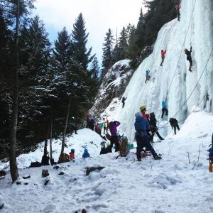 Women's Ice Climbing