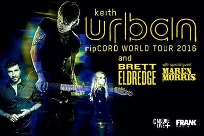 Keith Urban - ripCord Tour 2016