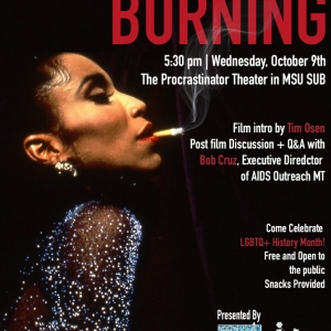 Poster for a screening of Paris Is Burning