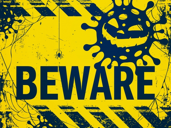 Beware – COVID-19 is lurking this Halloween. Wear a mask. Social distance. Wash your hands. Avoid large gatherings.  | Alison Gauthier/MSU