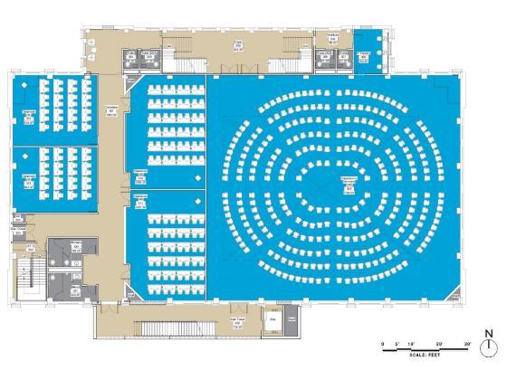 Image of interior design of Romney Hall post renovation  
