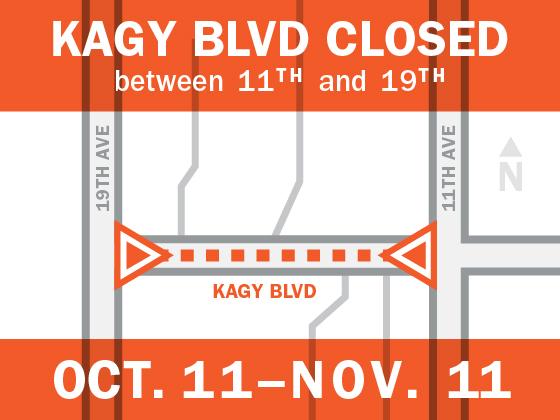 Kagy closed Oct 11 - Nov 11 |
