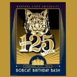Kelsey Dzintars, an MSU graduate now working a professional freelance designer, was the grand prize winner of a contest to design a poster for the university's 125th anniversary. MSU will celebrate its 125th anniversary on Feb. 16, 2018, kicking off a year of celebratory activities. Dzintars won $1,000 for her design. The university received 114 entries in the contest.