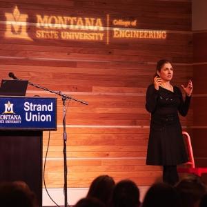 Anousheh Ansari at the 2017 Women in Engineering Dinner