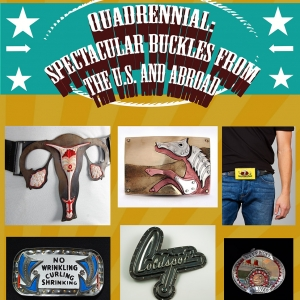 Quadrennial: Spectacular Buckles from the US and Abroad at the HECG