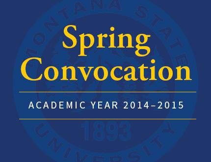 Spring Convocation |