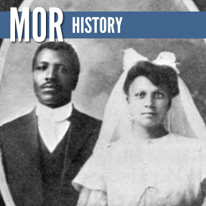 """Wedding photo for the lecture titled """"The Sort Who Make Good Citizens: """"Empire, An African American Community in Wyoming, 1908-1920."""""""