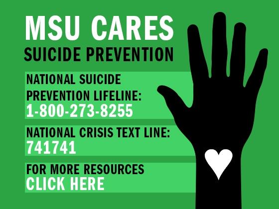 MSU Cares: Suicide Prevention |