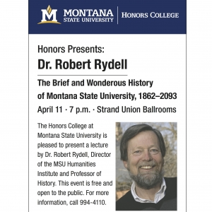Dr. Rydell MSU History Poster