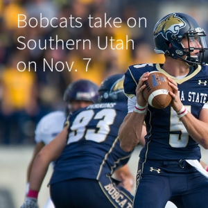 Bobcats take on Southern Utah on Nov. 7 at 1:40 p.m.