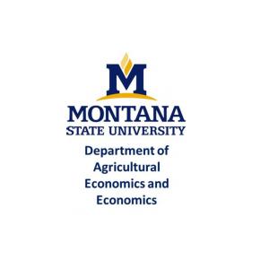 Department of Agricultural Economics and Economics