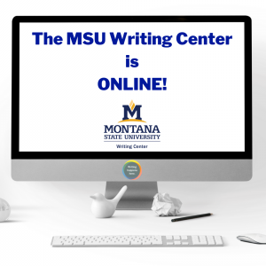 MSU Writing Center is Online