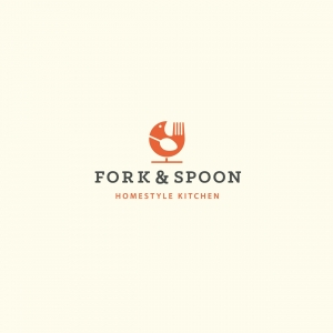 Fork & Spoon Homestyle Kitchen Logo