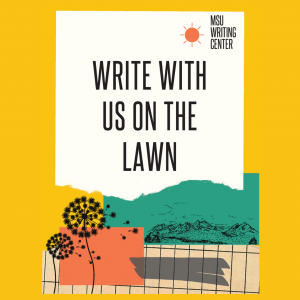 Write With Us On The Lawn