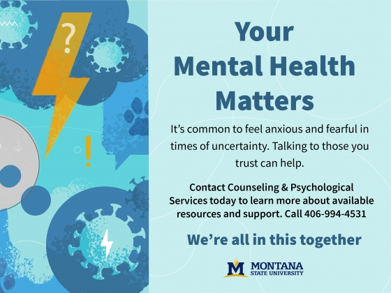 Your mental health matters |