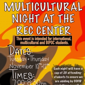 Multicultural Night at the Rec Center
