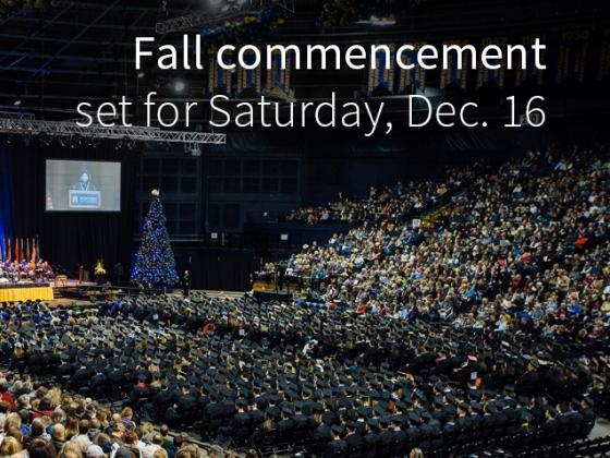 Fall commencement set for Dec. 16 | Adrian Sanchez-Gonzalez/MSU