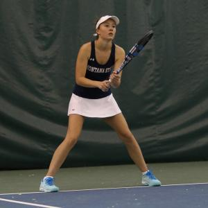 Montana State Women's Tennis vs UM