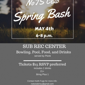 NoTS Club Spring Bash