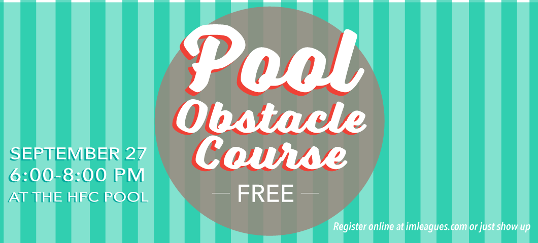 Pool Obstacle Course