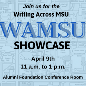 Writing Across MSU Showcase