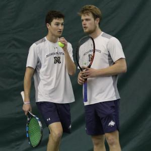 Montana State Men's Tennis vs UM