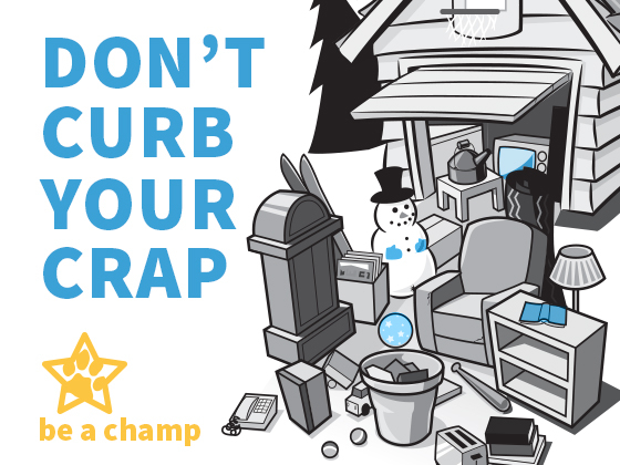Don't Curb your Crap |