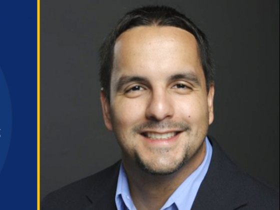 Academic Advising Award (faculty): David Claudio, Spring Convocation, Academic Year 2020-21. Portrait of David Claudio | MSU