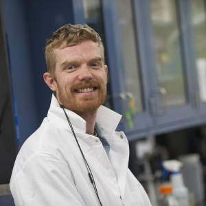 MSU postdoctoral research associate Luke McKay | MSU photo by Kelly Gorham
