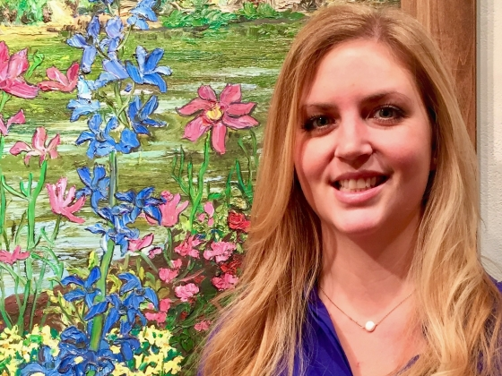 Kearstin Jacobson, MSU art history graduate student |