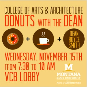 CAA Donuts with the Dean