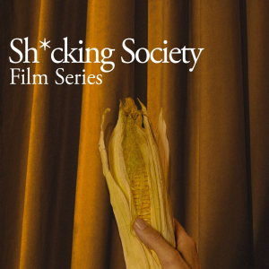 """Shucking Society"" Film Series Logo"