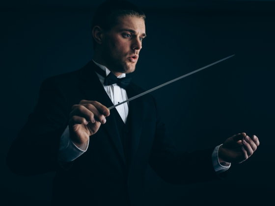 Andrew Major to Compete in National Conducting Event | MSU Photo by Adrian Sanchez-Gonzalez