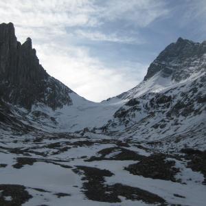 Robertson Glacier. |