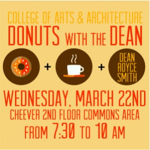 CAA Donuts with the Dean Spring 2017