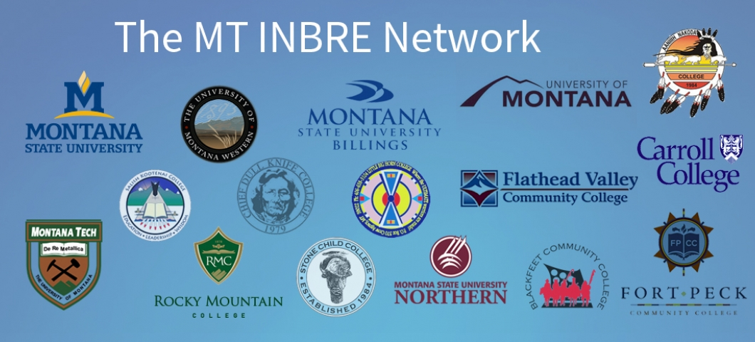 MT INBRE Partner Logos