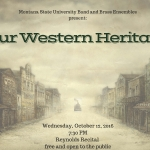 """""""Our Western Heritage"""" Concert"""
