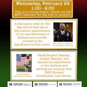 Celebrating Black Military Service: Exploring our Past, Present and Future of Service people