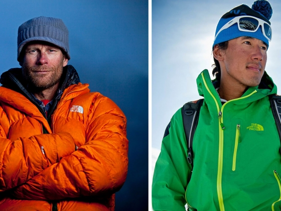 Conrad Anker and Jimmy Chin | Photos courtesy Jimmy Chin