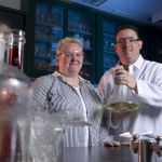 Researchers Dr. Christopher Doona and Ms. Florence Feeherry. | MSU News Service