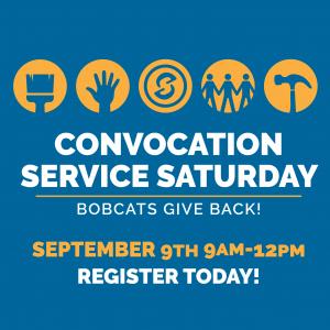 Convocation Service Saturday