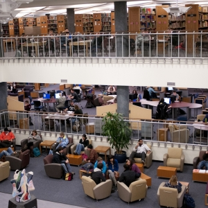 1st Floor of MSU Library