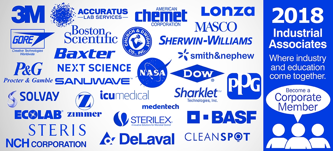 Center for Biofilm Engineering Industrial Associate Logos