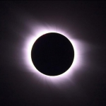 The Aug. 1, 2008 solar eclipse. Photo courtesy of The Exploratorium via www.nasa.gov