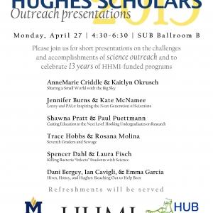Hughes Scholars Presentations