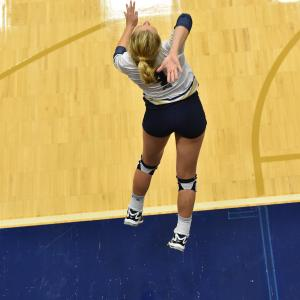 MSU Volleyball Player