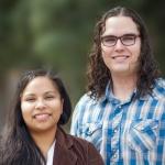 Udall scholars Elva Dorsey, left, and Montana Wilson.