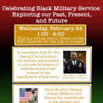 Poster for a Black History Month Event