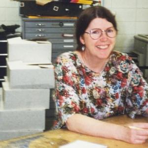 This is a photo of MSU Professor Emerita Anne Blackford Garner
