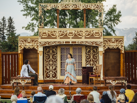 Montana Shakespeare in the Parks - You Never Can Tell | MSU Photo by Adrian Sanchez-Gonzalez